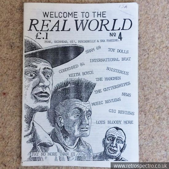 Welcome To The Real World fanzine