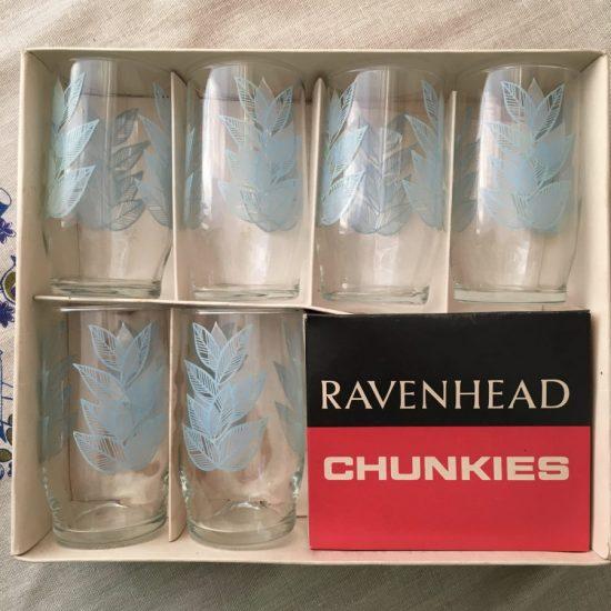 Ravenhead Chunkies glasses in box