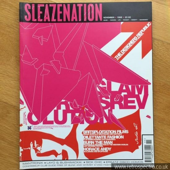 Sleazenation magazine