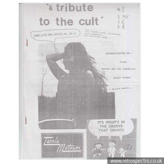 A Tribute To The Cult fanzine