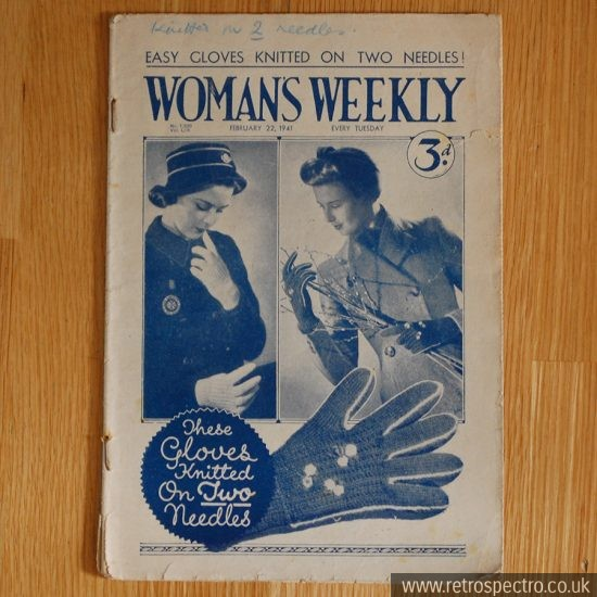 Woman's Weekly 1940's